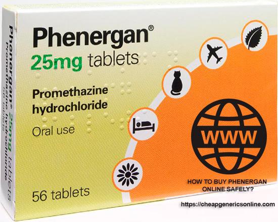 How to buy phenergan online?