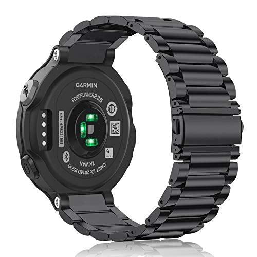 backside of Garmin smartwatch